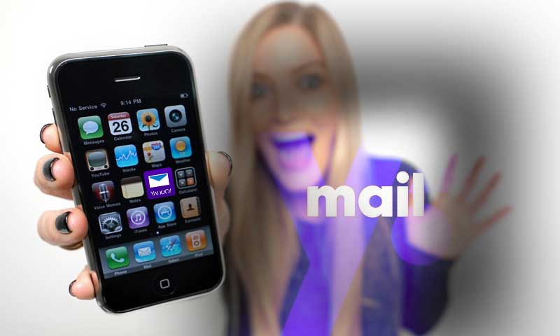 Access Yahoo email on iPhone