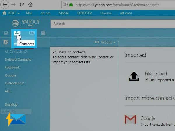 How to Import Contacts Into Your att.net Email - A Solution From ...
