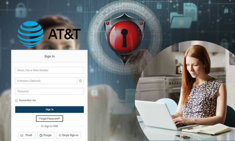 change at&t email password