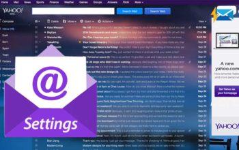 Yahoo Mail Settings