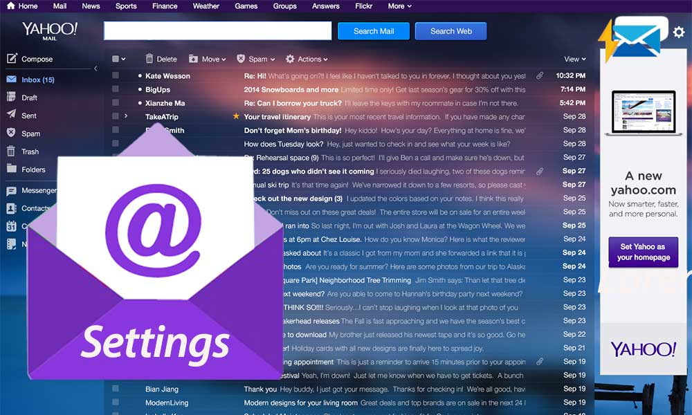 A Guide on Yahoo Mail Server Settings to Set up Yahoo Mail Account on Your Mail Client or App
