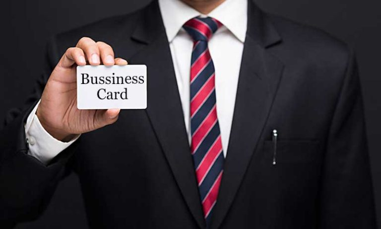 how to make innovative business card
