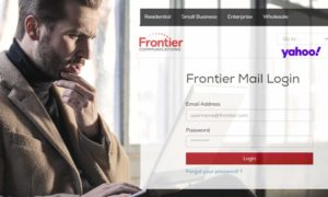 login frontier email