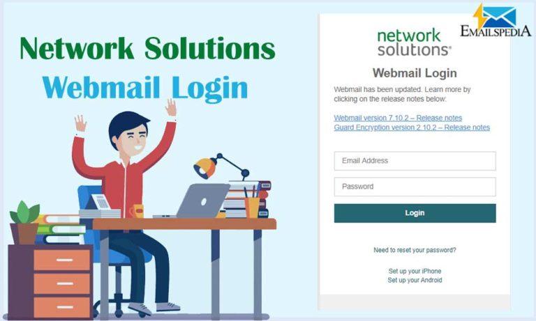 network solutions webmail login