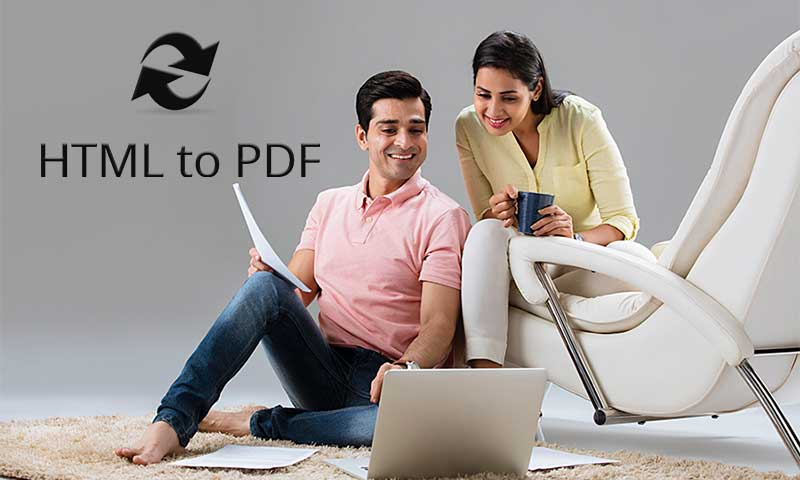 Convert HTML to PDF with GogoPDF Using 4 Steps