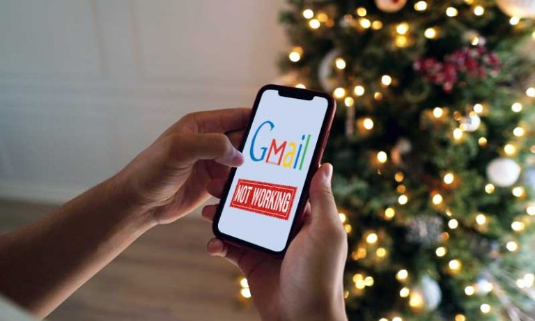 Gmail is not working on iphone