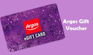 How to Use Argos Gift Voucher
