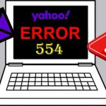Yahoo mail error delivery code 554