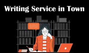 Writing Service in Town