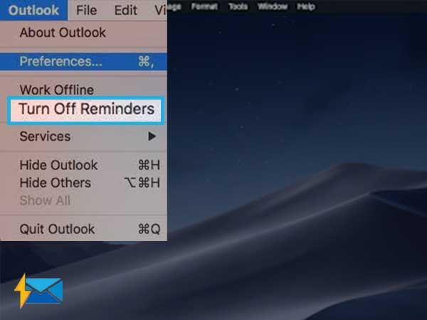 Turn-off Reminders in Microsoft applications